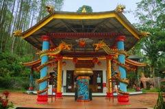 Sikt av den gamla kloster Dewi Kwan Im Royaltyfria Foton