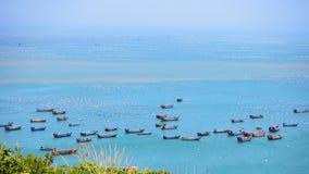 Sikt av den Gouqi ön, Kina östligt hav Arkivfoton