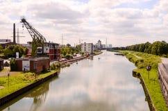 Sikt av den Hamm floden Fotografering för Bildbyråer