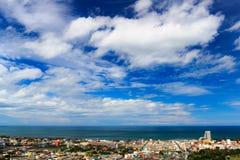 Sikt av den Hua-hin staden, Thailand Royaltyfri Foto