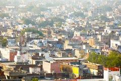 Sikt av den Jaipur horisonten Royaltyfri Bild