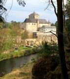 Sikt av den Kost slotten Fotografering för Bildbyråer