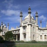 Sikt av den kungliga paviljongen i Brighton Sussex Royaltyfri Bild