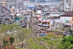 Sikt av den Macao staden Arkivbilder
