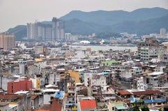 Sikt av den Macao staden Royaltyfri Bild