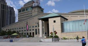 Sikt av den Mississauga medborgarcentret i Mississauga, Kanada 4K stock video
