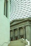 Sikt av den moderna British Museum Royaltyfria Foton