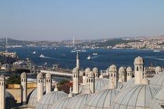 Sikt av (den nya) Bosphorusen, Arkivbilder