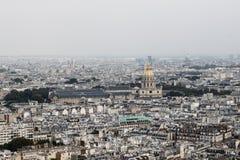 Sikt av den Paris staden, andra Fotografering för Bildbyråer