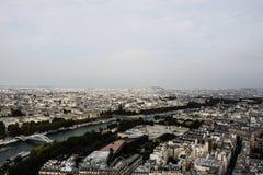 Sikt av den Paris staden, tredje Royaltyfri Fotografi