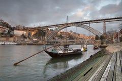 Sikt av den Porto staden i Portugal Royaltyfria Foton