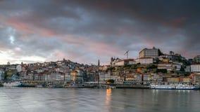 Sikt av den Porto staden i Portugal Arkivbilder