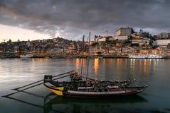 Sikt av den Porto staden i Portugal Royaltyfri Foto