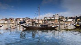 Sikt av den Porto staden i Portugal Royaltyfri Fotografi