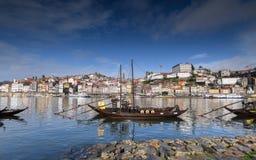 Sikt av den Porto staden i Portugal Fotografering för Bildbyråer