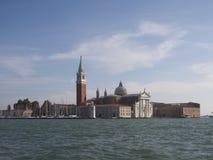 Sikt av den San Giorgio ön, Venedig Royaltyfri Fotografi