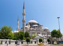 Sikt av den Sehzade moskén i Istanbul, Turkiet Royaltyfri Foto