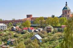 Sikt av den Smolensk fästningen, ointaglig bastion, pålitligt def Royaltyfria Bilder