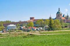 Sikt av den Smolensk fästningen, ointaglig bastion, pålitligt def Royaltyfri Bild