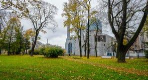 Sikt av den St Petersburg mosk?n fotografering för bildbyråer
