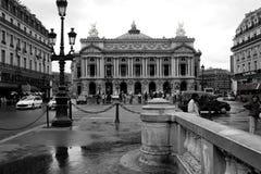 Sikt av den storslagna operan i Paris 12 Augusti, 2006 Royaltyfri Foto