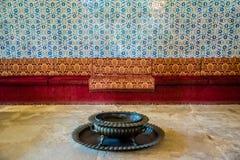 Sikt av den Topkapi slotten i Istanbul, Turkiet arkivfoton