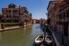 Sikt av den Venedig staden, Italien Royaltyfria Bilder