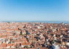 Sikt av den Venetian ön från över Royaltyfri Bild