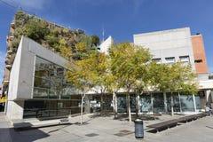 Sikt av den vertikala trädgården av sex golv i San Vicente del Ras Fotografering för Bildbyråer