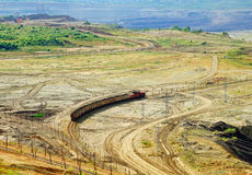 Sikt av dengrop minen Fotografering för Bildbyråer