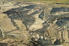 Sikt av dengrop minen Royaltyfri Bild