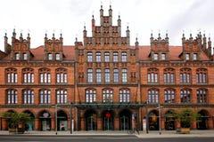 Sikt av det gamla stadshuset royaltyfri fotografi