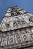Sikt av det Giotto klockatornet Arkivbilder