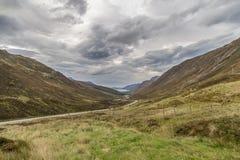Sikt av det härliga landskapet i Skottland Royaltyfri Fotografi