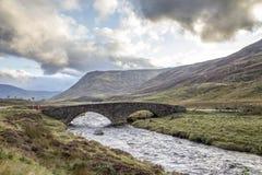 Sikt av det härliga landskapet av röktopasnationalparken i scotl Royaltyfri Foto