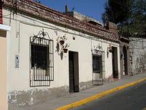 Sikt av det koloniala centret, Arequipa, Peru Arkivbilder