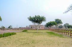Sikt av det Lahore fortet, Lahore, Punjab, Pakistan Royaltyfri Bild