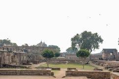 Sikt av det Lahore fortet, Lahore, Punjab, Pakistan Arkivfoton