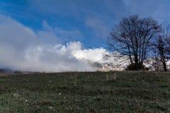 Sikt av det Maiella berget Fotografering för Bildbyråer