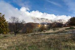 Sikt av det Maiella berget Royaltyfri Foto