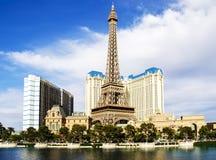 Sikt av det Paris Las Vegas hotellet och kasinot i Las Vegas, USA Royaltyfri Foto