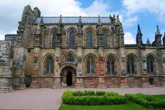 Sikt av det Rosslyn kapellet Arkivfoton