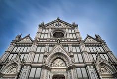 SIKT av domkyrkan Santa Croce arkivbild