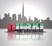 Sikt av Dubai Royaltyfria Foton