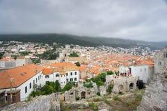 Sikt av Dubrovnik den gamla staden Royaltyfri Bild