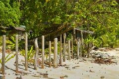 Sikt av El Nido Det är en 1st gruppkommun i landskapet av Palawan, Filippinerna royaltyfri bild