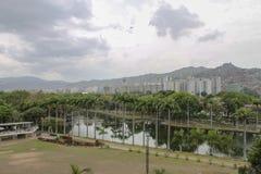 Sikt av El Valle i Caracas, Venezuela royaltyfri foto
