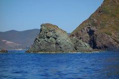 Sikt av Elba Island Royaltyfri Foto