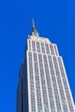 Sikt av Empire State Building - New York royaltyfri foto