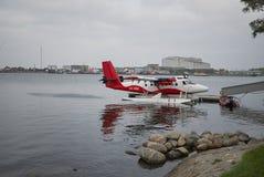 Sikt av en sjöflygplan royaltyfria foton
